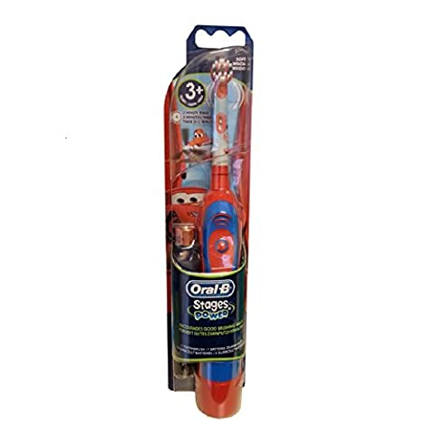 Braun Oral-B Advance Stages Power Kids Battery Toothbrush Disney Cars for 3+