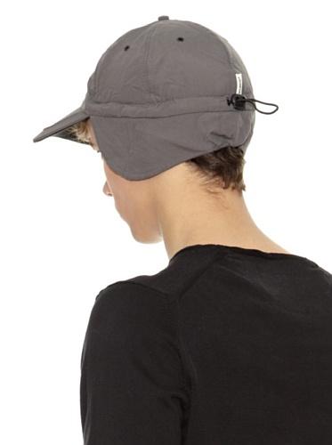 Casquette Techno Earflap avec Teflon baseball cap protege-oreille Gris