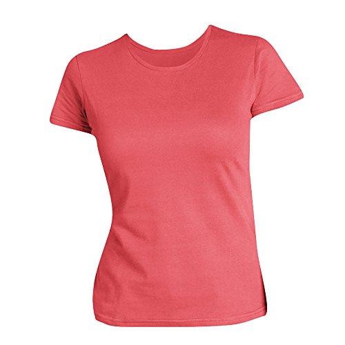 SOLS Damen T-Shirt, Kurzarm, Rundhalsausschnitt Zitrone