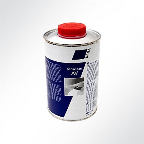 Saba Sabaclean AV 1000ml Verdünnungs- und Reinigungsmittel für Kleber 1 Liter Dose Av-schutz