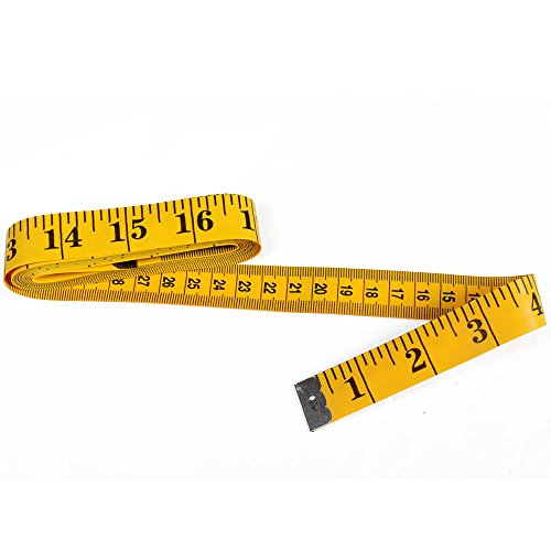 Dxg 120 Inches Soft Tape Measure for Sewing Tailor Cloth Ruler (Yellow) by DXG Test