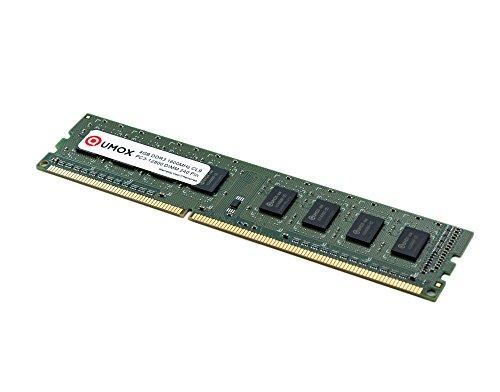 QUMOX 4GB DDR3 1600 PC3-12800 PC-12800 (240 PIN) DIMM RAM Desktop-Speicher XMP CL9 - Cl9-pc-speicher