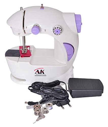 Goyal Trading CO.GT044 Compact Mini Sewing Machine with Foot Pedal and adapter