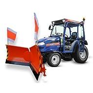 Kommunal Kat 0 Vario Schneeschild 150cm hydraulisch Schneeschieber Winterdienst