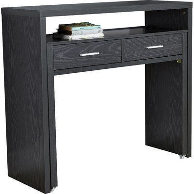 modern-black-console-table-with-pull-out-desk-and-two-storage-drawers