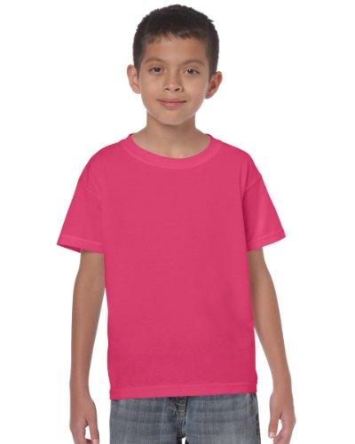 Gildan Maglietta in cotone pesante da bambino Heliconia