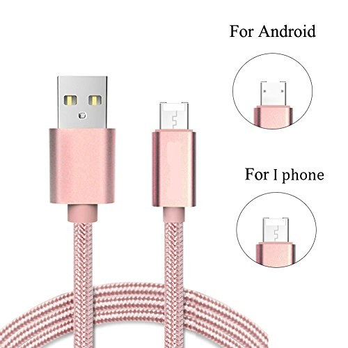 Amore Indus Primo Compatible Micro USB Data Charging Cable ,2 In 1 USB Cable with Magnetic,Data Sync Cable for iPhone and Android Smartphone,iPhone6S IPad IPod Samsung HTC Nexus Sony Etc , Imported / High Quality,(Color May Vary)  available at amazon for Rs.299