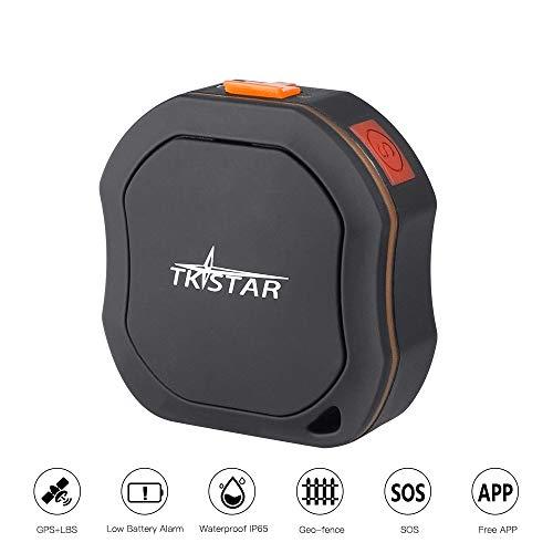 TKSTAR Mini Rastreador GPS Portátil, Mascotas Vehículos para Gatos de Perros Niños...