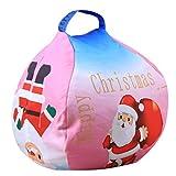 Bolsa para Guardar Juguetes Ideal para Lego, Duplo y Juguetes para niños Bolsa Rápidamente Limpieza Organizador Del Almacenaje - Bolsos de Navidad, bolsas de regalo, decoraciones de Navidad (Rosa)