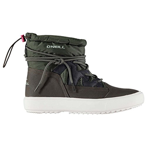 Oneill Femmes Bellarip71 Bottes Bottines Hiver Neige Chaussures Chaud Lacets Beetle