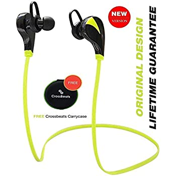 bde73b51250 CrossBeats Neo Wireless Sweatproof Running Jogging Gym Stereo Earphones  Built-in Mic/APT-