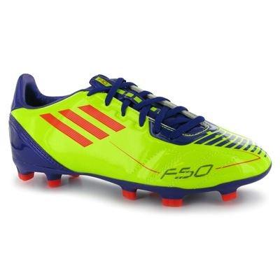 adidas F10 Trx Fg J, Chaussures football mixte enfant yellow