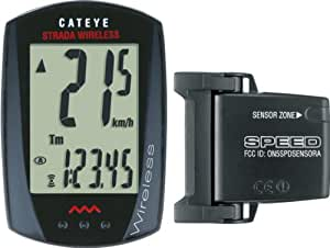Cateye Strada Rd300 Cycling Computer - Black