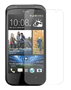 3 x Membrane Screen Protectors for HTC Desire 500 (Desire 500 Dual Sim) - Crystal Clear (Glossy), Retail Package, Installation Kit