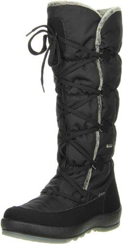 Vista Damen Winterstiefel Snowboots schwarz, Größe:39;Farbe:Schwarz