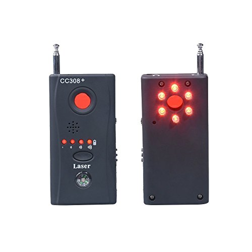 Hangang Wireless RF Signal Detector Detected versteckte Kamera Gerät multifunktionale Anti-Spion-Signal GSM Gerät Finder Monitor mit LED Licht