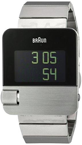 Braun BN0106SLBTG Orologio da Polso Digitale, Acciaio Inossidabile, Argento