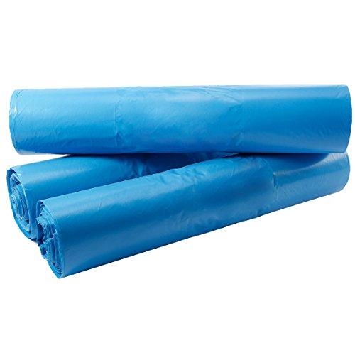 150X 120L litri 70x 110cm Sacchi Sacchetti di immondizia sacchi della spazzatura sacchetto sacco per rifiuti immondizia Sacchetto per rifiuti Stark per casa ufficio giardino cucina Pattumiera rifiuti smaltimento