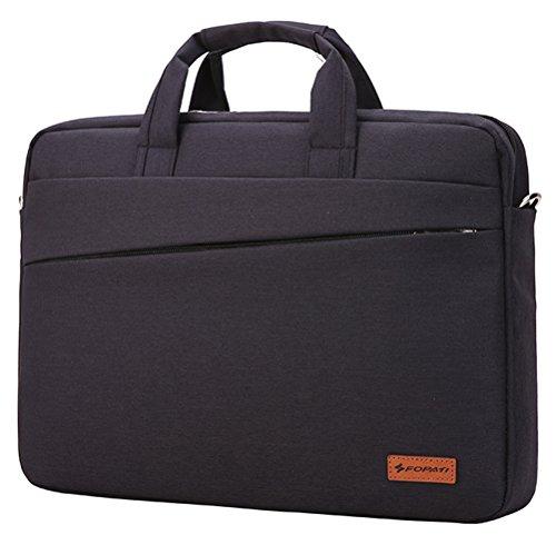 awland Laptop Hand Tasche für 33–33,8cm Laptop Computer Multifunktions-MacBook Air/Pro mit Retina Aktentasche Schultertasche Notebook Sleeve Fall Handtasche–Schwarz
