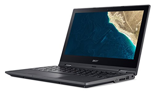 Acer TravelMate Spin B1 TMB118-RN-P4J9 29,5 cm (11,6 Zoll Multi-Touch Full-HD IPS) Convertible Laptop (Intel Pentium N4200, 4GB RAM, 64GB eMMC, Intel HD, Win 10 S) schwarz