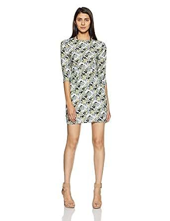 VERO MODA Women's Shift Dress (1751270001_Multi-Color_XS)