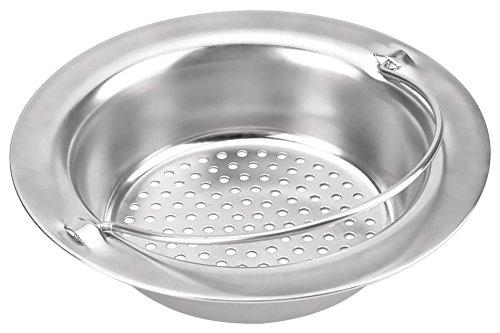 Loveless Land Küchenspülsieb Spülbecken Filter Edelstahl Abflusssieb Küchen Spüle Sieb Waschbecken Filter Stöpsel - Protector Edelstahl Spüle