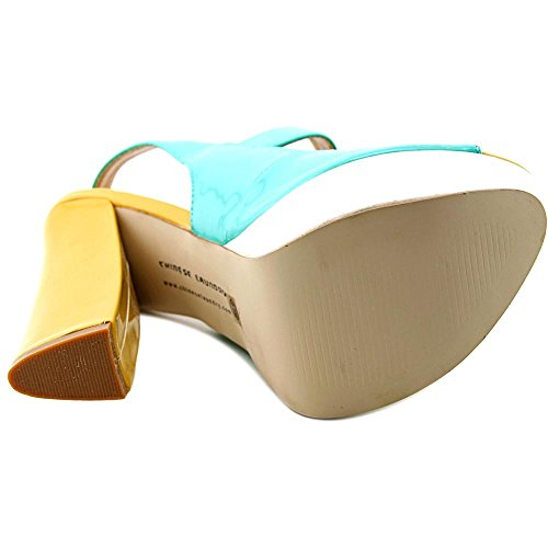 Chinese Laundry Z Fearless Synthétique Sandales Compensés Pale Blue