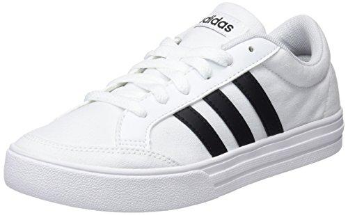 Adidas vs set, sneaker a collo basso uomo, bianco (ftwbla/negbas/negbas), 43 1/3 eu