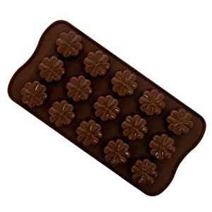 Silicone Chocolate Moulds Tray - Flowers