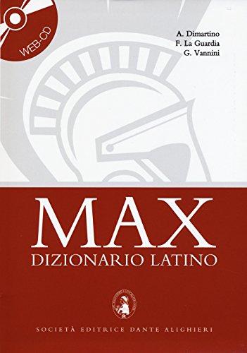Max dizionario latino. Con Web CD