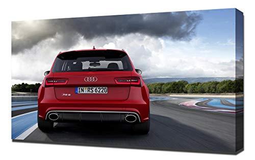 2014-Audi-RS6-Avant-V5-1080 - Stampa Artistica su Tela - Stampa Tela Canvas