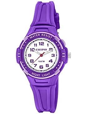 Calypso Mädchen-Armbanduhr K6070/4