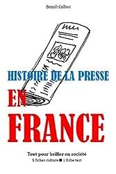 Histoire de la presse en France - Tout pour briller en société