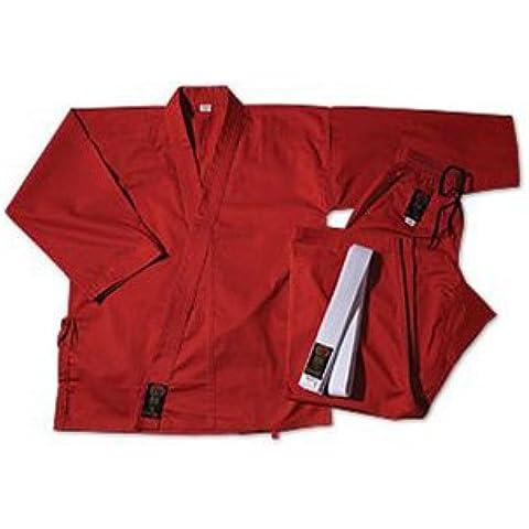 Gladiador ProForce 7,5 oz. Peso medio uniforme - rojo (cordón elástico) Tamaño 8