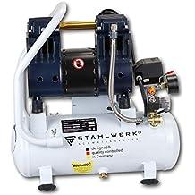 STAHLWERK ST 108 pro - Compresor de aire a presión (10 L, 8 bar