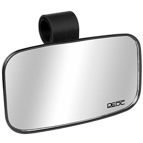 Magiin Piccolo UTV Specchio Interno Centro Specchietto Retrovisore convesso da 1,5 pollici 1,75 pollici 2 pollici Cilindro
