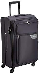 PRONTO Lima Polyester 68 cms Grey Suitcase (6457 - GY)