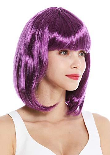 WIG ME UP ® - 0073-3-ZA54 Peluca Mujer Carnaval Hombro
