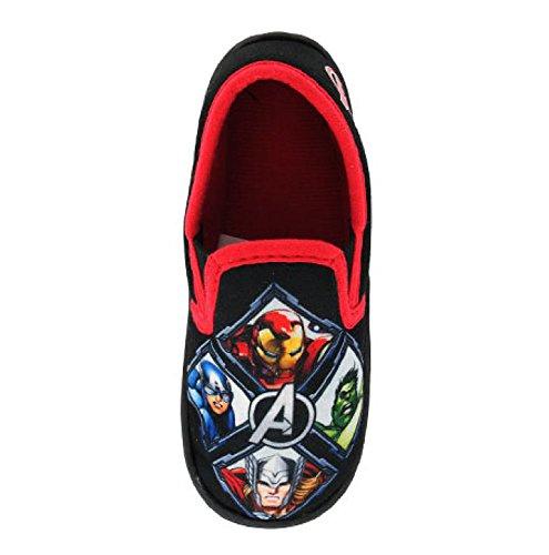 Socks Uwear New Kids Boys Marvel Avengers Colam Design Novelty Character Slippers UK13