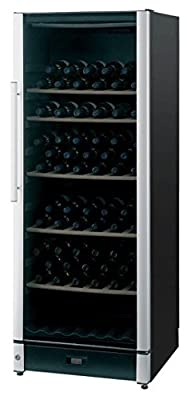 Vestfrost FZ295W-BLACK Dual Zone Wine Cooler, 298 L from Vestfrost