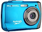 The Bell+Howell WP7 Splash camera is a 12 Mega Pixel waterproof digital camera that is easy to use, compact and handheld. It is waterproof to 10 feet so you can take it with you to the beach, in the pool, surfing, skiing, boating and standard every d...
