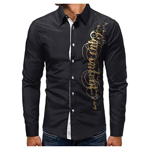 Männer Shirt Druck Kleid Shirt Kurzarm Slim Fit Masculina Casual Shirts Modell 4XL Schwarz Weiß Asiatische Größe XXL