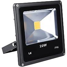 LE Foco proyector Exteriores LED 20W ~ 200W Halógeno Blanco frío Resistente al agua
