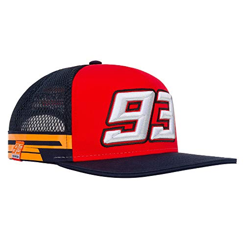 2019 Marc Marquez # 93 Official Flatbrim Trucker Cap