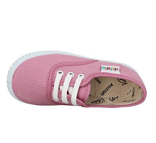 Victoria Inglesa Lona Unisex - Erwachsene Sneaker Pink - Rosa