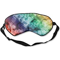 Colorful Hearts Love Sleep Eyes Masks - Comfortable Sleeping Mask Eye Cover For Travelling Night Noon Nap Mediation... preisvergleich bei billige-tabletten.eu
