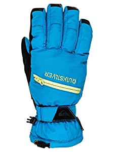 Quiksilver Men's Snow Gloves Hill Gloves M blue Brilliant Blue Size:S