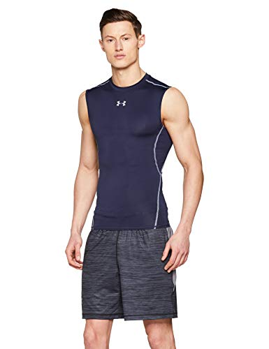 4403f9e8273c7 Under Armour Men's Tank Top UA HeatGear Armour, Breathable Sleeveless T  Shirt, Comfortable Gym Wear for Men with Compression Fit