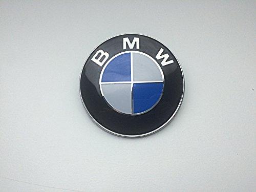 MW Emblem Motorhaube oder Heckklappe 82 mm blau & weiß Logo E36 E39 E46 E60 E70 F10 X5 X6
