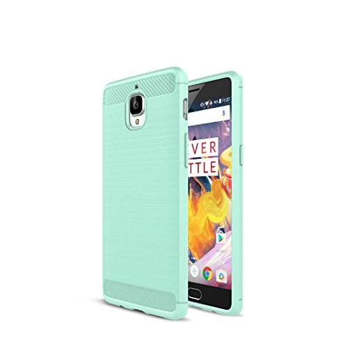 one-plus-3-funda-carbon-fiber-soft-silicone-case-carcasa-funda-para-one-plus-3-verde
